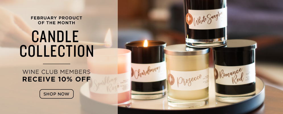 February Product of the Month: Candle Collection