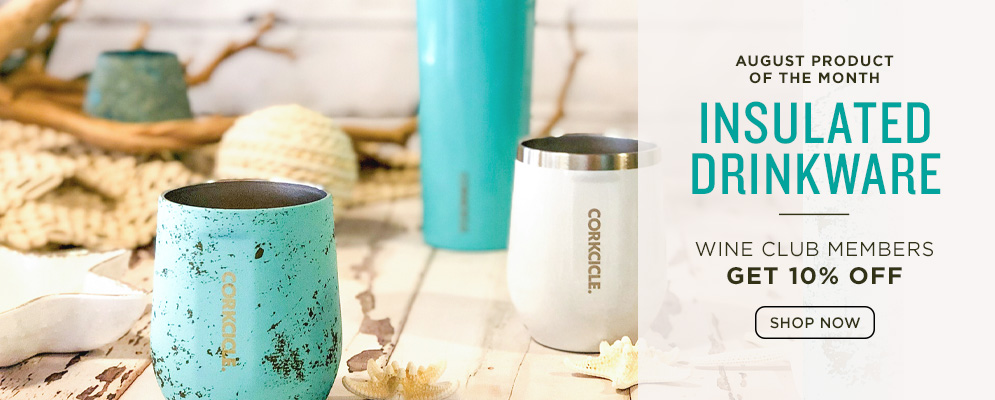 August Product of the Month: Insulated Drinkware