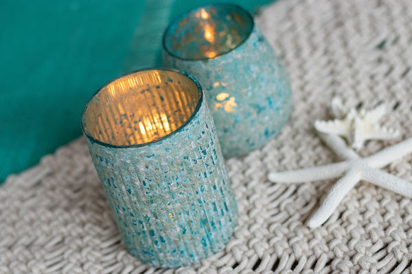 Pool Candle Holder