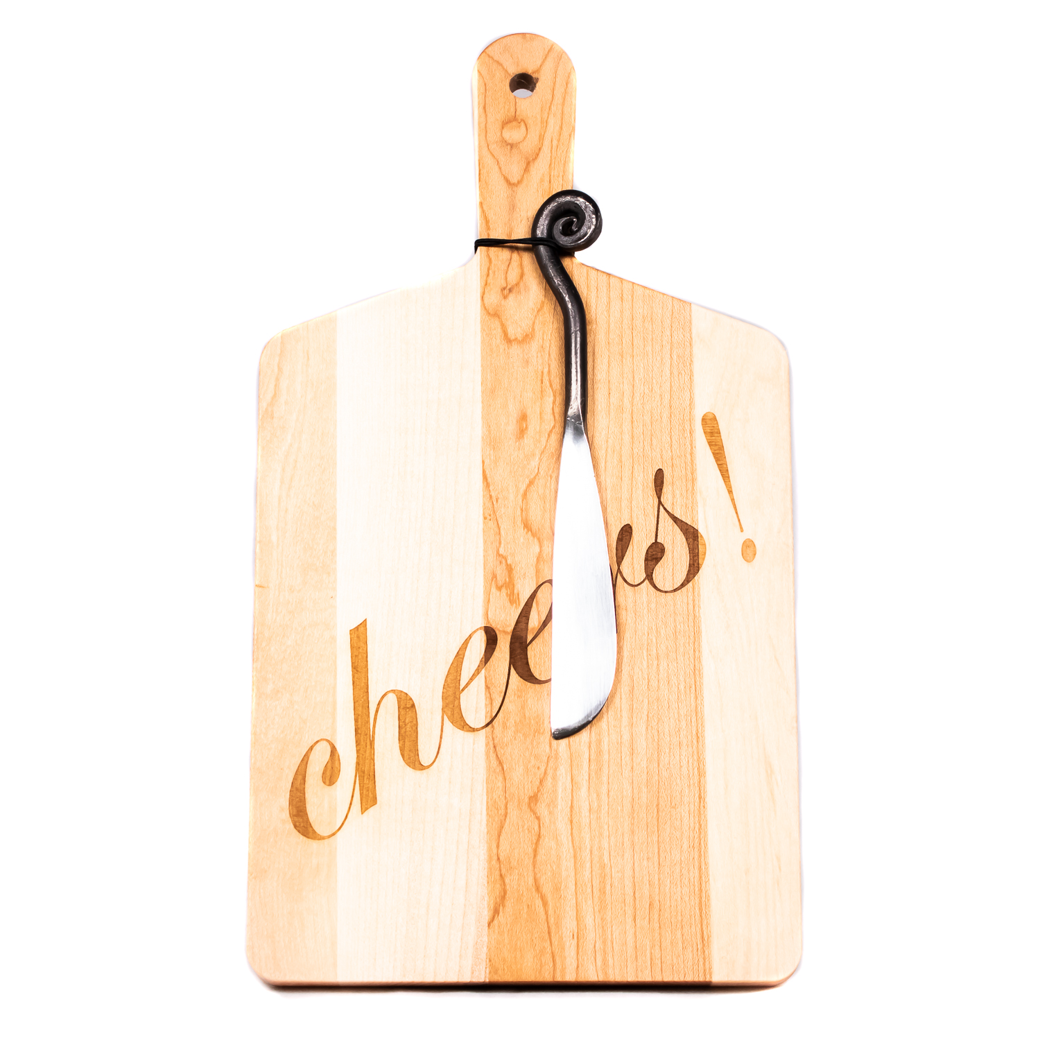 Cheers! Cheese Board with Knife