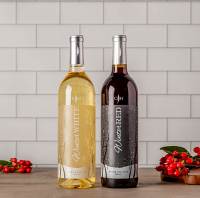 Winter Red and Winter White Wine Gift Set
