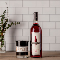 Romance Red Wine and Candle Set