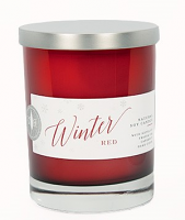 Cooper's Hawk Candle - Winter Red